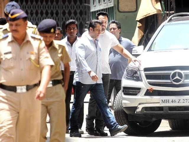 salman reached jodhpur court