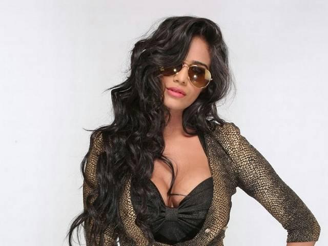 Poonam Pandey looks in the Tollywood movie Malini and co.