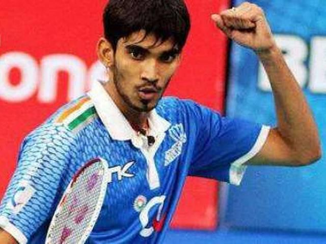 srikanth dedicated the victory to coach Gopichand