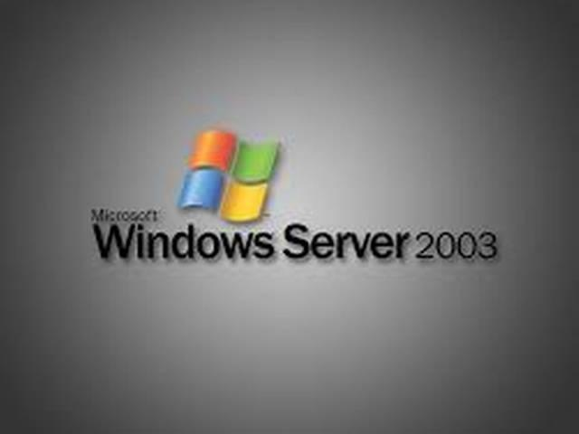 alert for windows-2003 users