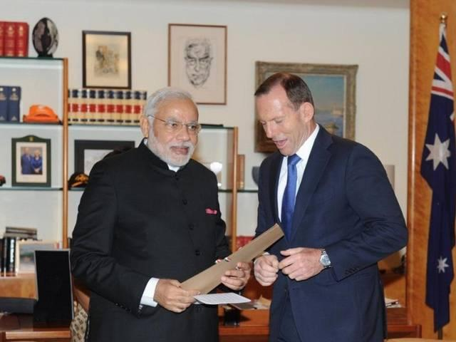 Australia announced today that it intends to supply uranium to India for peace