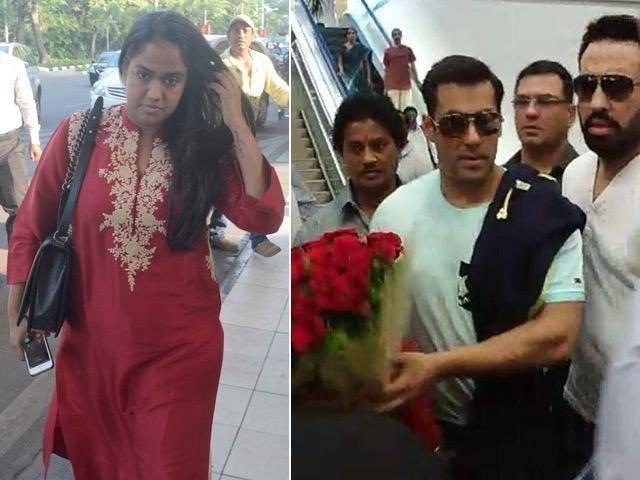 salman sister wedding exclusive picture