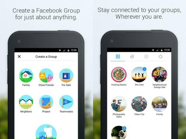 Facebook releases new app just for Groups