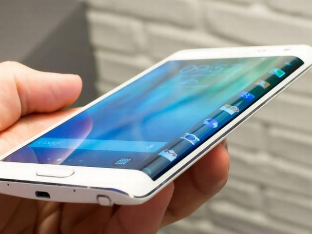 samsung launched bended smartphone
