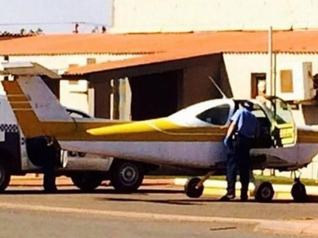 Man fined for driving plane down main street to a pub