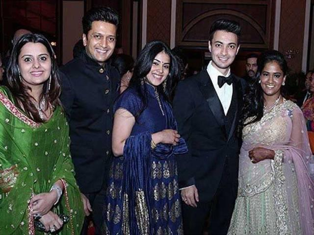 Arpita Khan and Aayush Sharma wedding reception