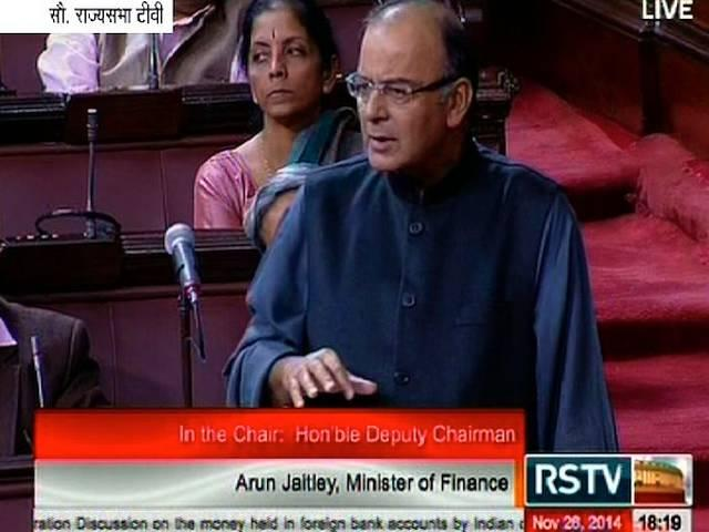 black money debate in the parliament: post rajya sabha, finance minister arun jaitley to answer questions in the lok sabha