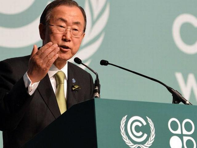 Ban Ki Moon asks men and boys to fight violence against women