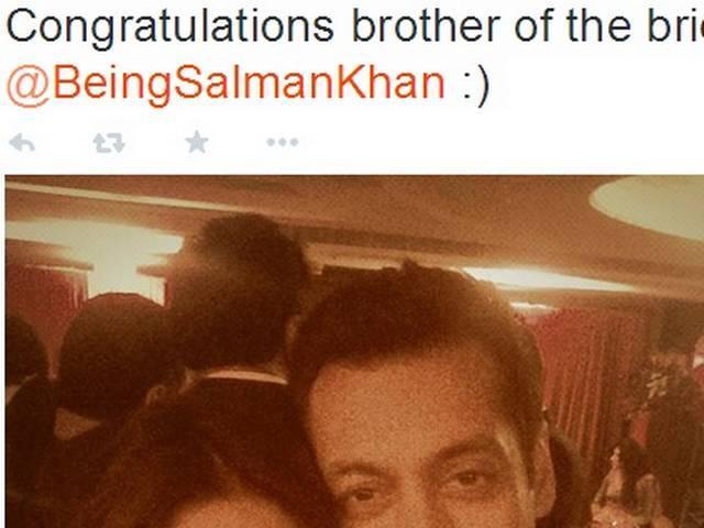 What did Salman say to make Sonakshi cry at Arpita's reception?