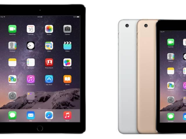 Apple iPad Air 2, iPad mini 3 launched in India