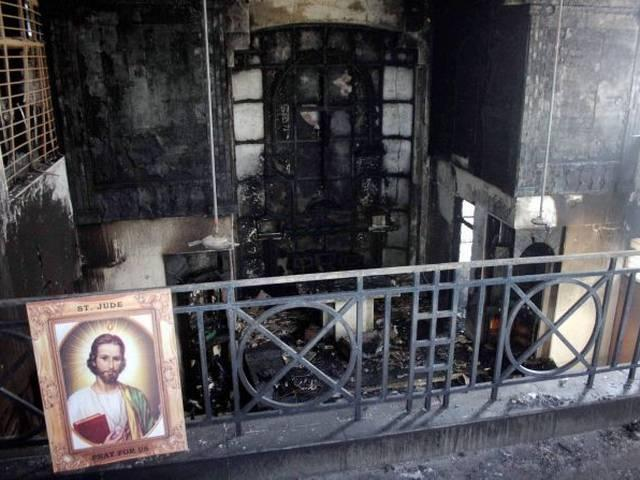 Protests After Fire in Delhi Church