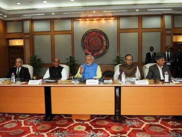 PM Modi holds CMs conference on new Planning Commission