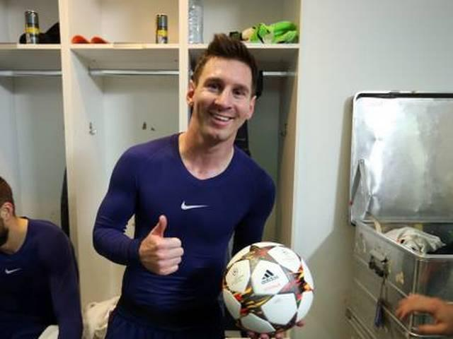 another hat trick by leo messi