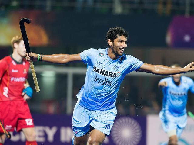 India beat Belgium