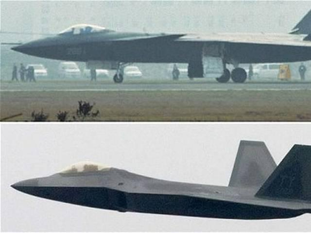 China Admits Stealth Fighter Not a Match to US F-35