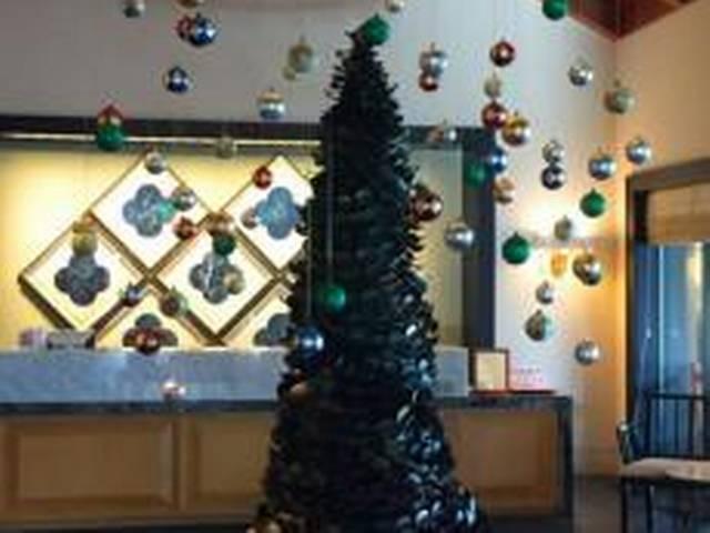 12-foot-tall Chocolate Christmas tree At Chennai Hotel
