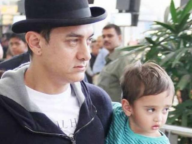 Azad calls me PK, copies my dance moves: Aamir Khan