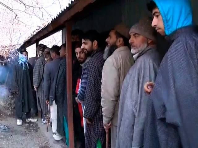 voting in j&k and jharkhand