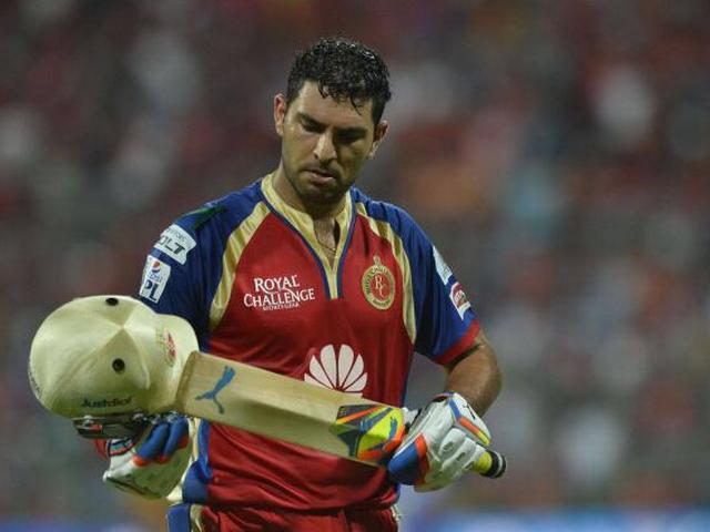 RCB release highest-paying Yuvraj