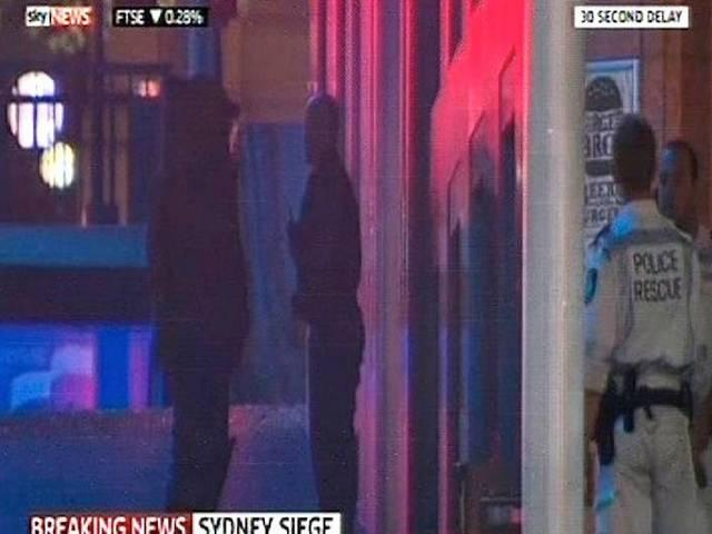 Sydney hostage crisis ends after police storm cafe