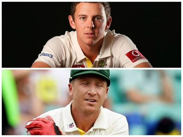 Gabba Test_Team India_Australia_Josh Hazlewood_Brad Haddin_