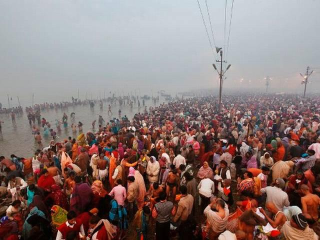 Magh Mela_Terrorist Attack_Security By Drone Camers_