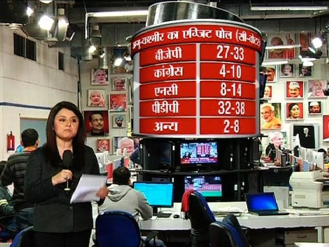 Jharkhand and Jammu Kashmir exit polls