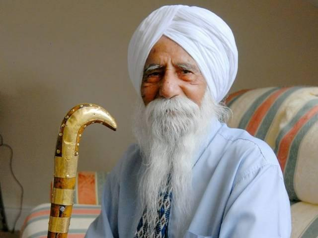 111-year-old 'Christmas- loving' Sikh is oldest man in Britain