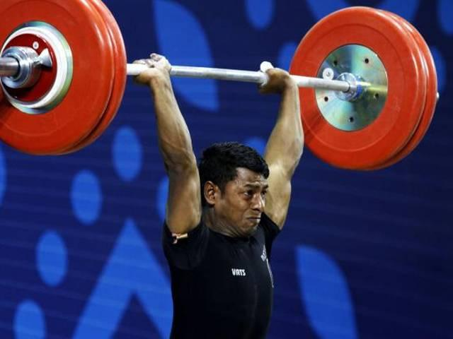 indian weight lifter