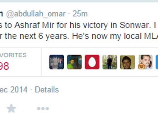 Omar Abdulla loses Sonwar seat