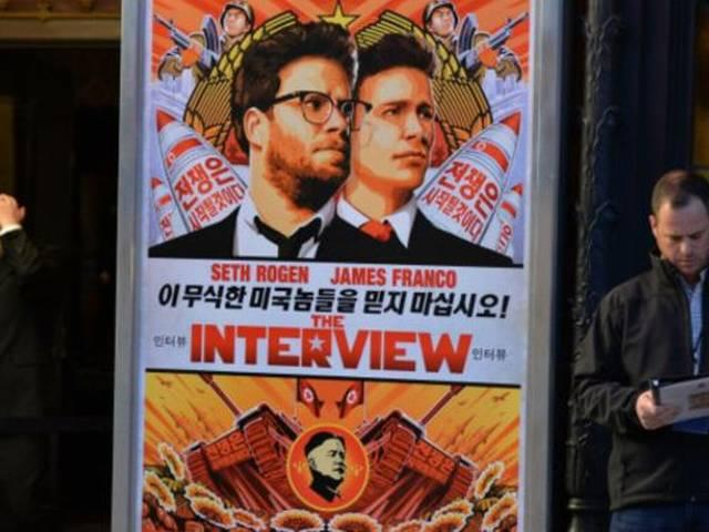 The Interview makes Hollywood history as the first studio film to premiere online