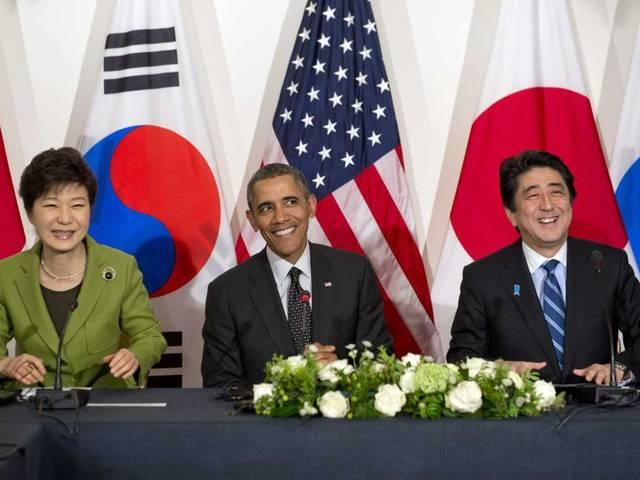 south korea, US and Japan to Share Intel on North Korea