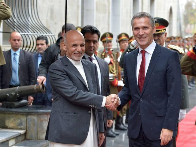 NATO mark end of 13-year war in Afghanistan