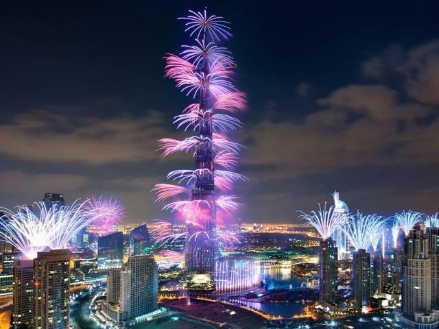 New Year eve gala around Burj Khalifa breaks Guinness Record