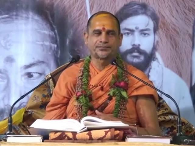 Every person takes birth as a Hindu: Mahant Sadanand Saraswati