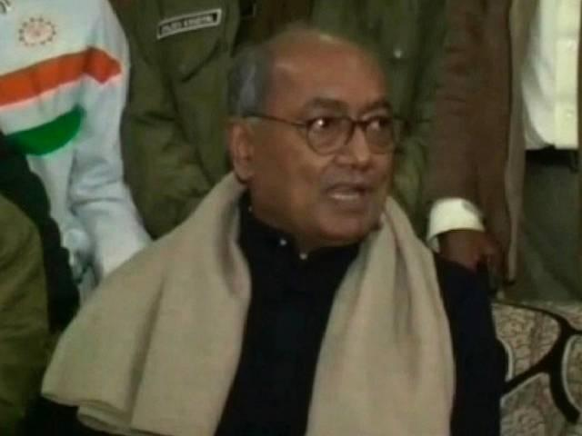 'Good days' only for industrialists close to Modi: Digvijay