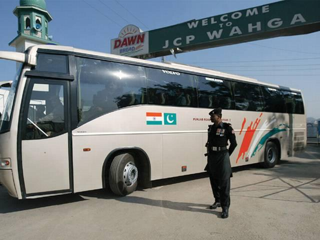 Lahore-Delhi bus service restricted to Wagah