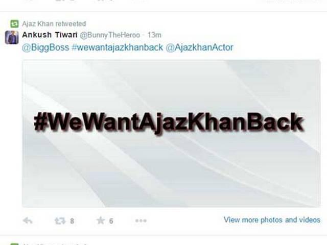 Ajaz Khan wishes Happy Birthday to Bigg Boss host Farah Khan
