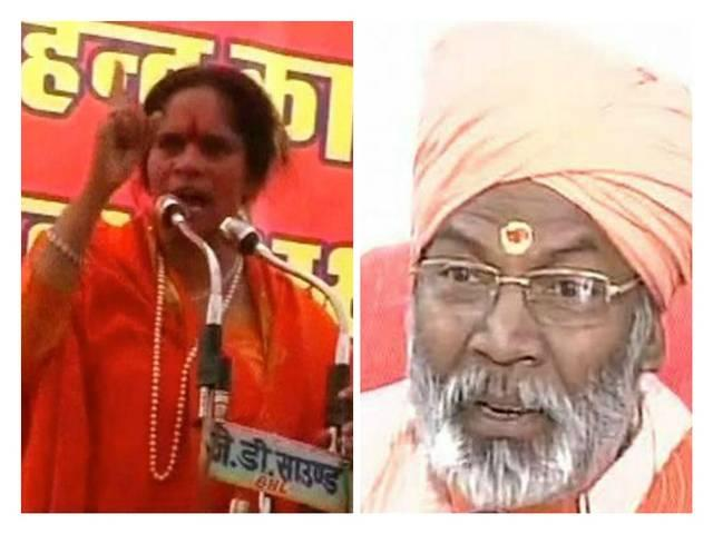 bjp issues show cause notice to its mp sakshi maharaj