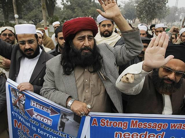 Peshawar rally pays tribute to Charlie Hebdo attackers