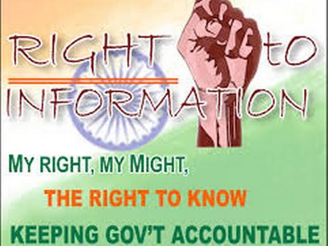 RTI fee abd piblic reponse