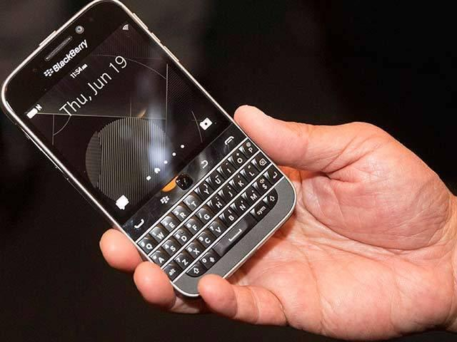 BlackBerry Classic launched in India