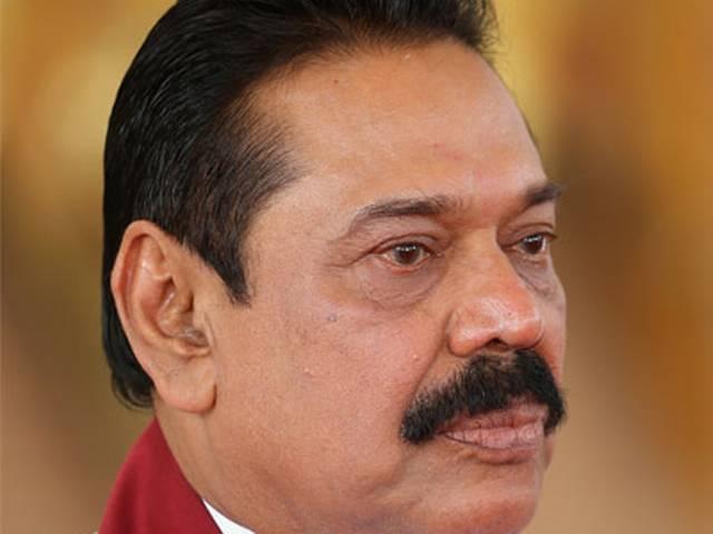 Police raid Rajapaksa's house