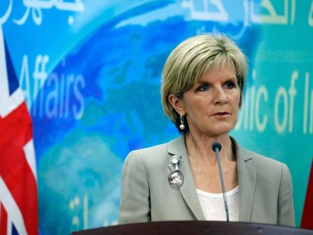 180 australians supporting isis says australian foreign minister julie bishop