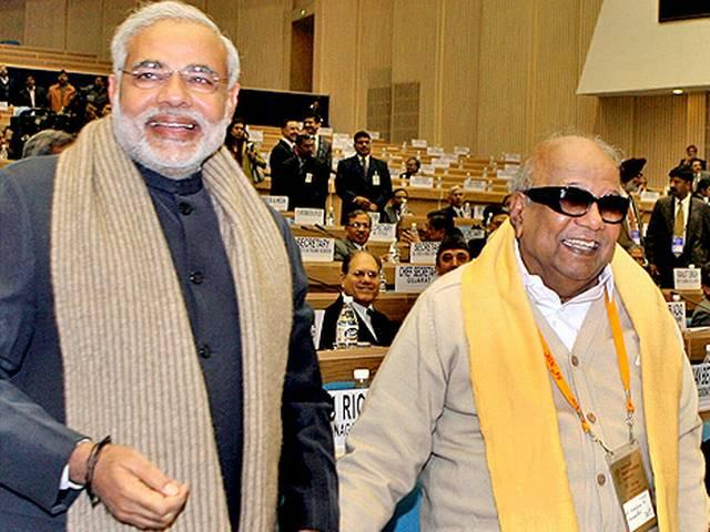karunanidhi appeals pm to not to impose hindi