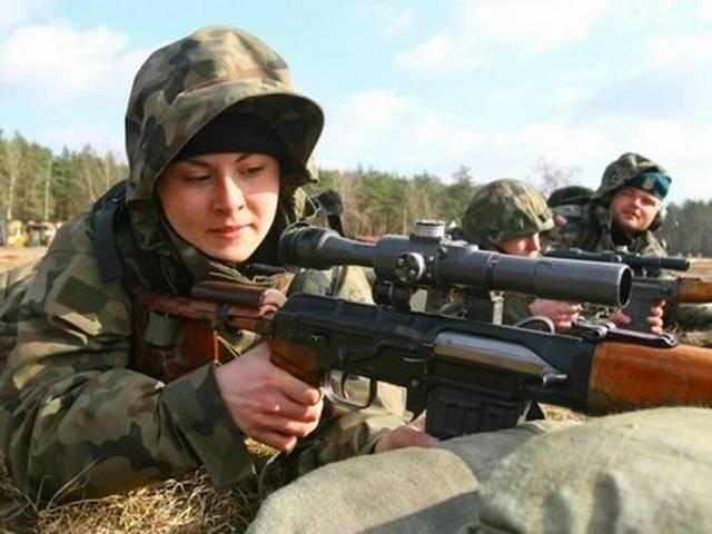 10 Most Attractive Female Armed Forces