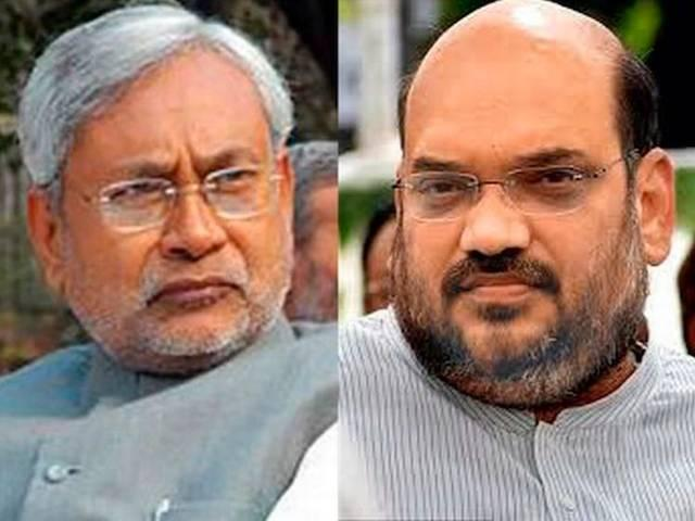 Nitish launches counter-attack against BJP