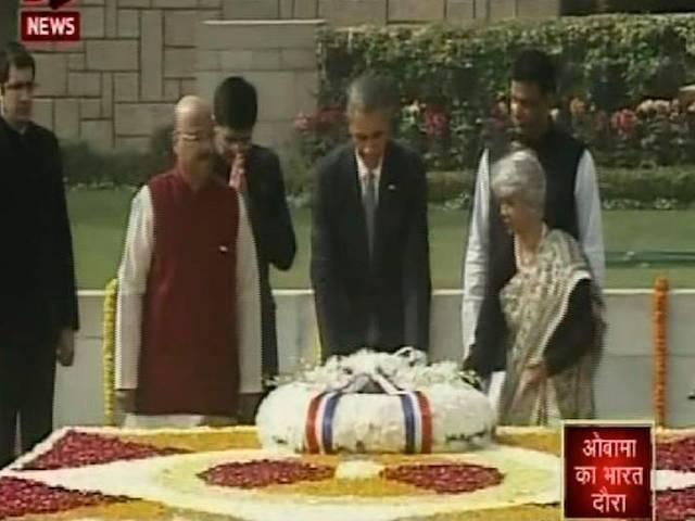 GANDHi still alive in heart of india