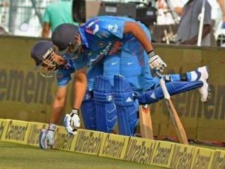 Team India_MS Dhoni_Virat Kohli_Rohit Sharma_Shikhar Dhawan_