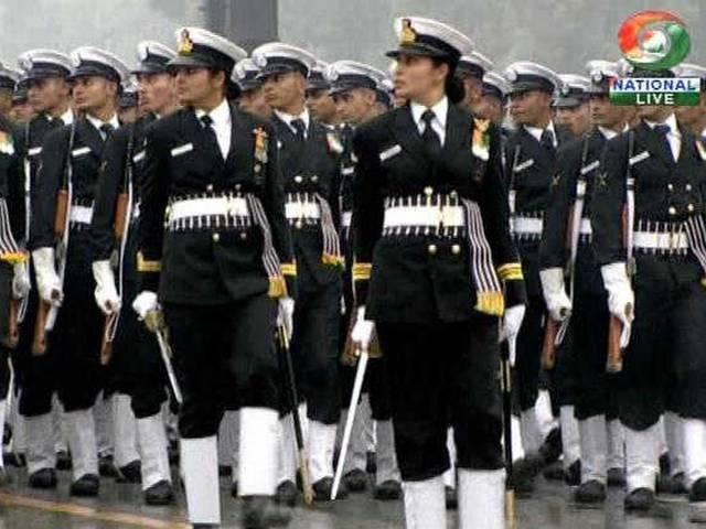 Women power to the fore at Rajpath